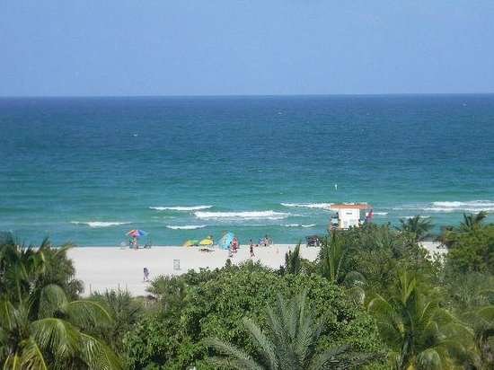 Seagull Hotel Miami South Beach: more room view- beautiful beach!