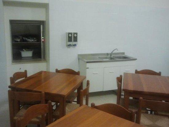 Ostello la Cocciara: sala cena
