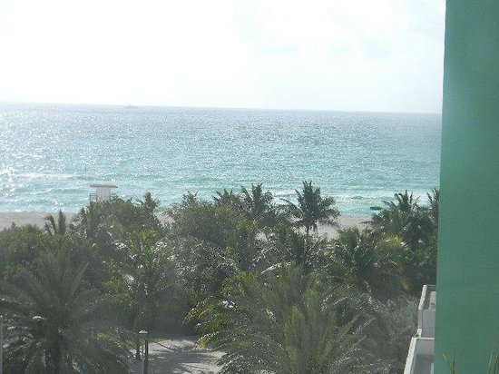 Seagull Hotel Miami Beach: View from my room