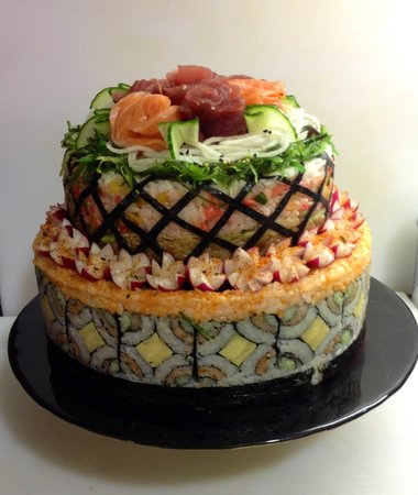 sushi passion birthday cakes in birmingham west midlands 9 on birthday cakes in birmingham west midlands