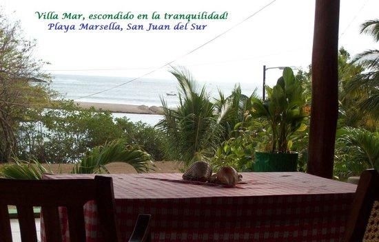 Hostal Villa Mar: Terraza hotel