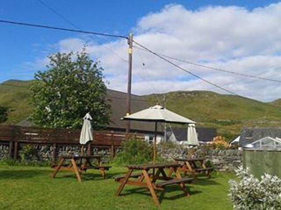Kilmartin Hotel : beer garden