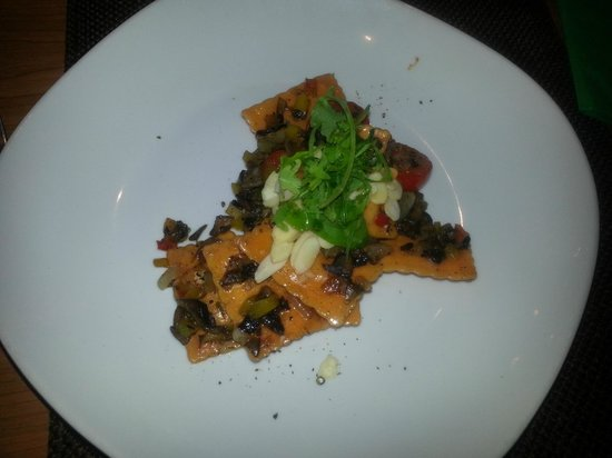 Tosca Restaurant : Salmon Ravioli