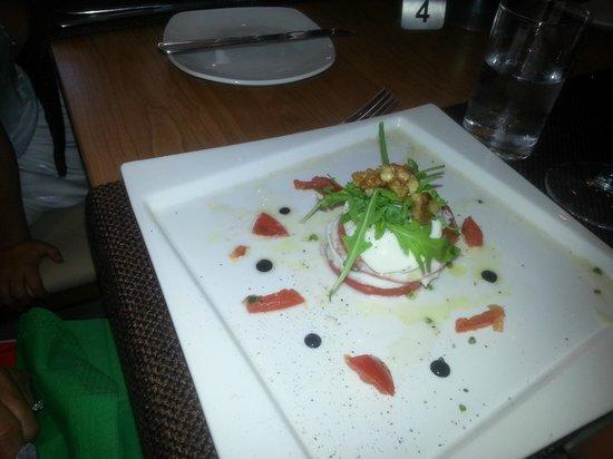 Tosca Restaurant : Delicious salad