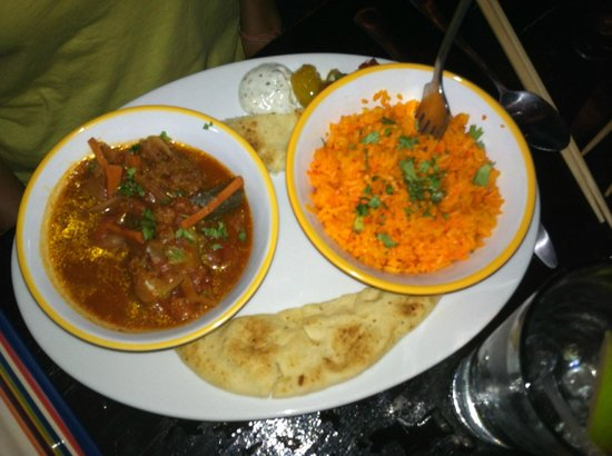 Nice 'n Spicy: Tomato-based Indian curry