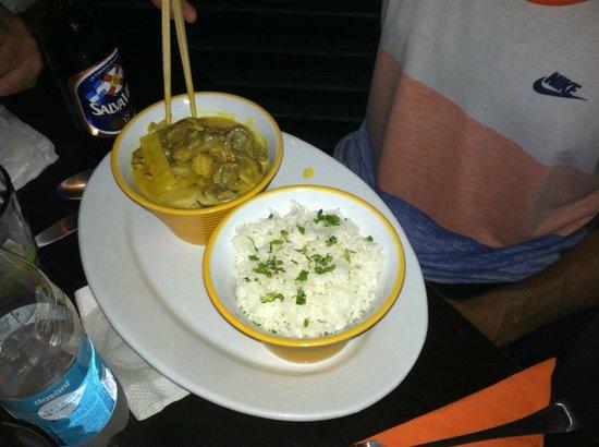 Nice 'n Spicy: Coconut milk based Thai curry