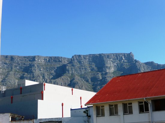 Best Western Cape Suites Hotel: Table Mountain from our Suite