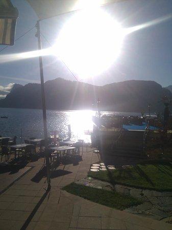 Pilatus Hotel: view from breakfast area outside