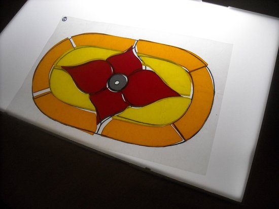 DIG: Pretend stained glass