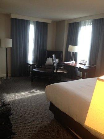 Hilton Philadelphia at Penn's Landing: Room 1018