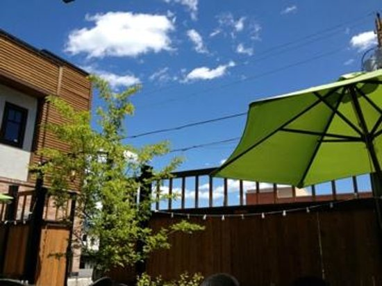 Cooper's Eatery & Drinkery: View on the patio