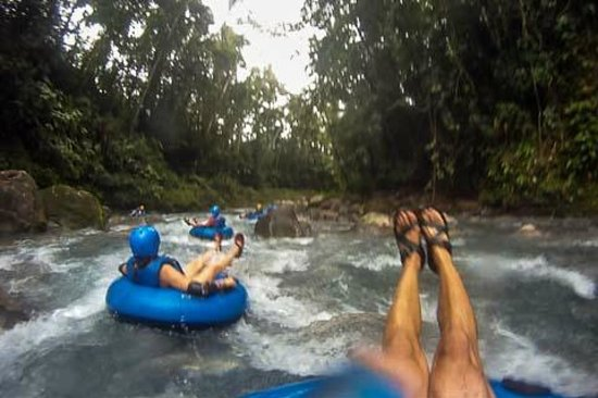 Blue River Hot Springs Eco-Adventure Tours : Water Tubing