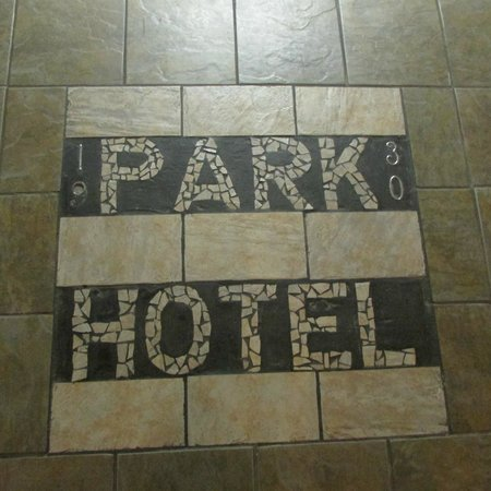 Park Hotel of Hot Springs: Floor Mosaic