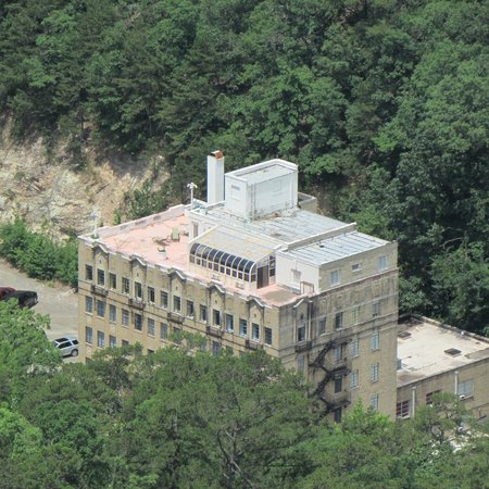 Park Hotel of Hot Springs: Hotel from Observatory