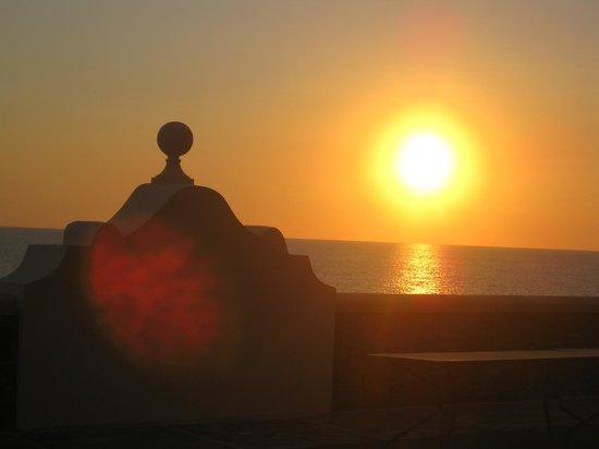 Palazzo del Capo: tramonto al palazzo
