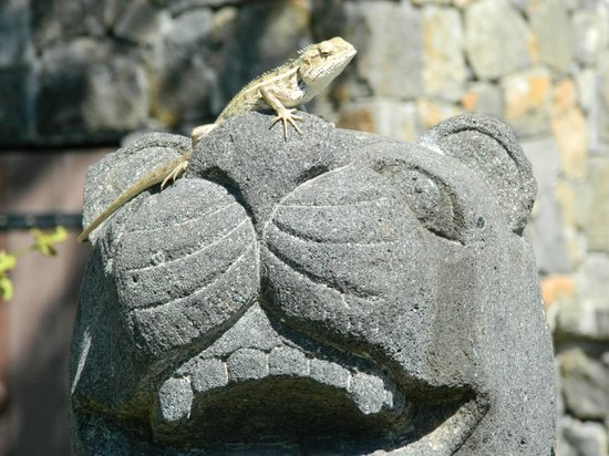 The Oberoi, Mauritius: Peaceful ornaments in gardens.