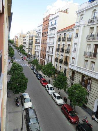 Agora Juan de Austria: view from balcony
