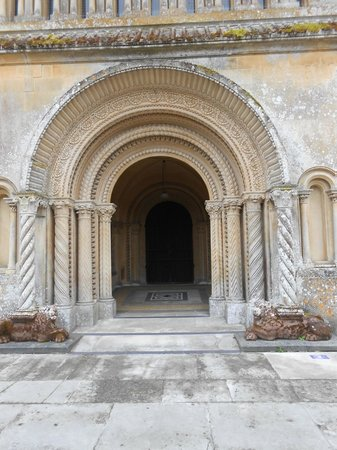 Church of St. Mary and St. Nicholas: door