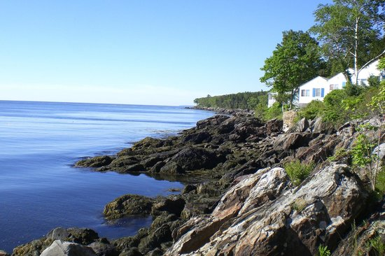 Beloin's on the Maine Coast: On the rocks!