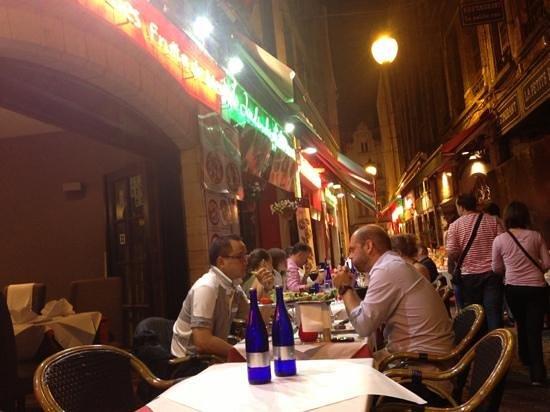 Le Jardin de l'Ilot Sacre: great evening spend in thisrestaurant