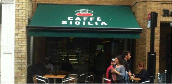 Caffe Sicilia Shop Front