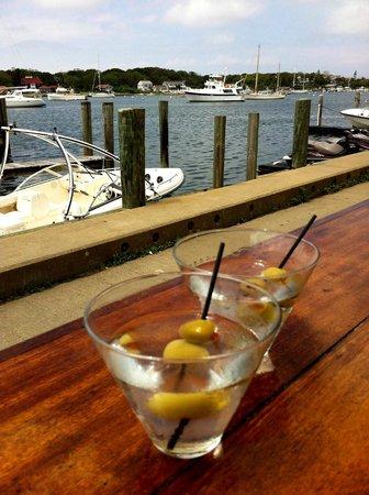 Fishbones Bar & Grille: Martini's at Fishbones in Oak Bluffs on Martha's Vineyard