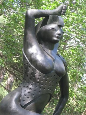 McMichael Canadian Art Collection: from the sculpture garden...