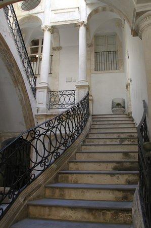 1743 loft : ingresso palazzo