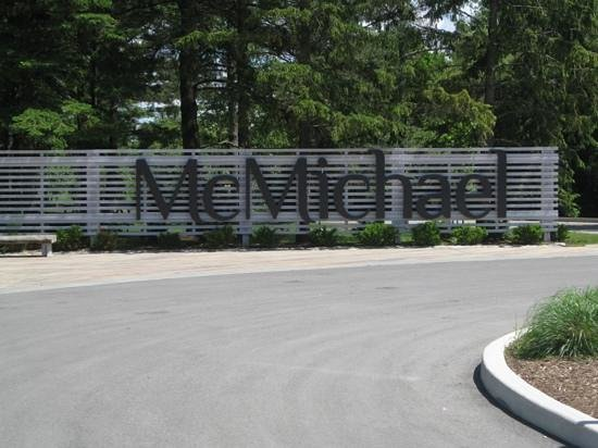 McMichael Canadian Art Collection: As you enter....so you know you're in the right place.