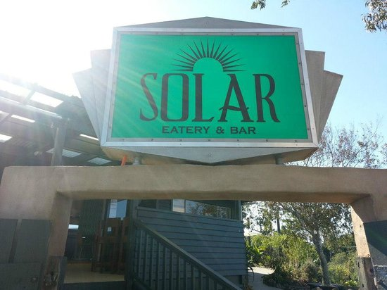 Solar Eating House : The sign