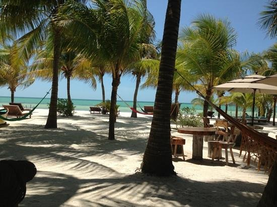 Holbox Hotel Mawimbi: view from bar