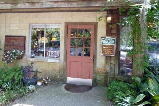 Spring Creek Restaurant: Spring Creek entrance