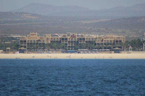 Hotel Riu Santa Fe: Vista desde el mar