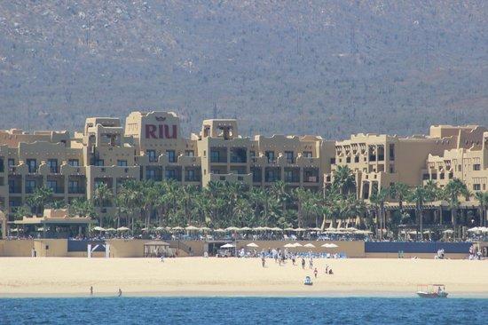 Hotel Riu Santa Fe: Vista del mar