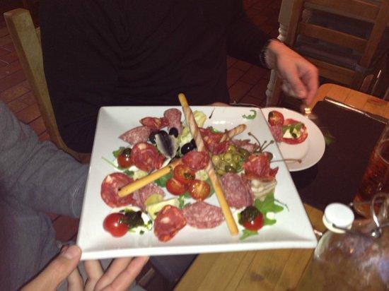 The Croft Restaurant: Anitpasto appetizer
