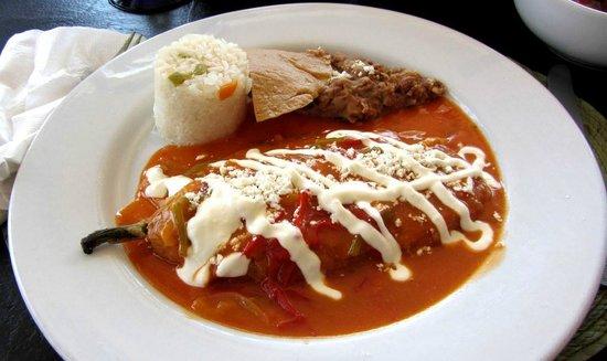 Salsa Grill: Poblano pepper