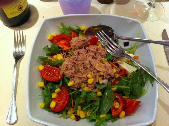 Osteria da Rosolo: Tuna Salad~exceptionally good.
