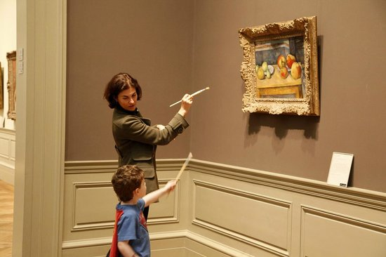 ArtMuse Private Tours: Kids on an ArtMuse tour at the Met!