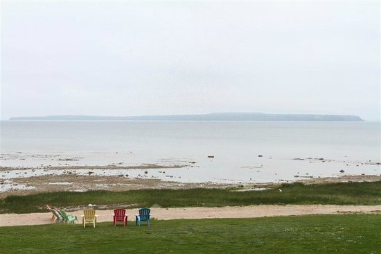 Holiday Inn Express St. Ignace-Lake Front : View from our balcony