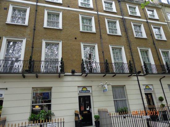 Days Inn London Hyde Park: Fachada hotel