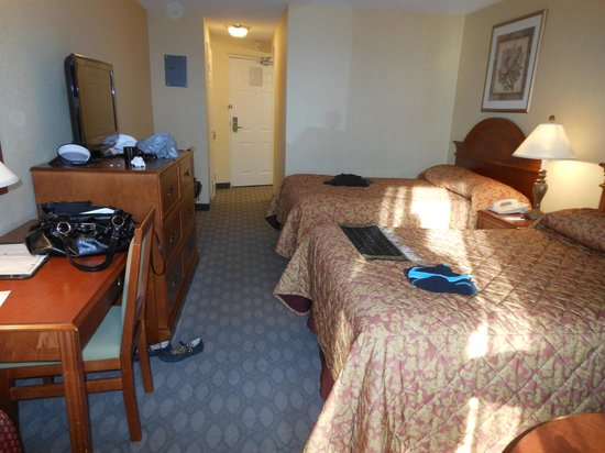 Comfort Inn Fallsview: Two queen beds room
