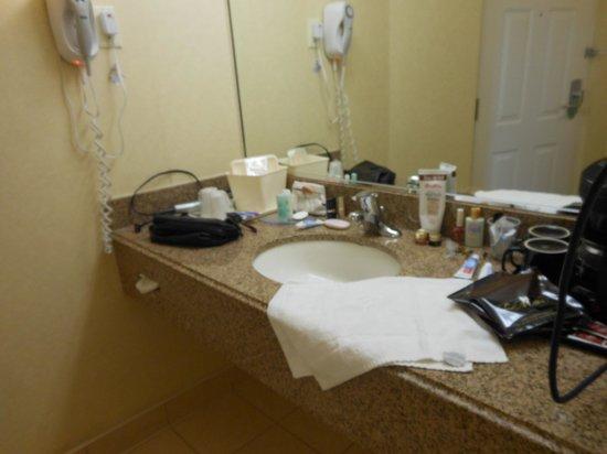 Comfort Inn Fallsview: Separate vanity area