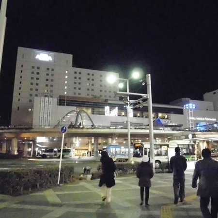 Hotel Associa Toyohashi: the surroundings, just walking distance to small shops, starbucks, and malls