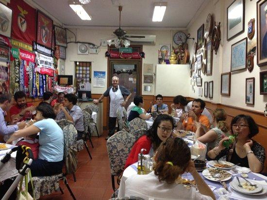 O SANTOS - Comida Portuguesa Restaurant: A minha Humilde Tasquinha  R/Ch Rua do Cunha