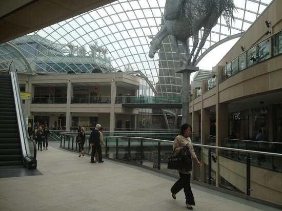 Trinity Leeds: View from
