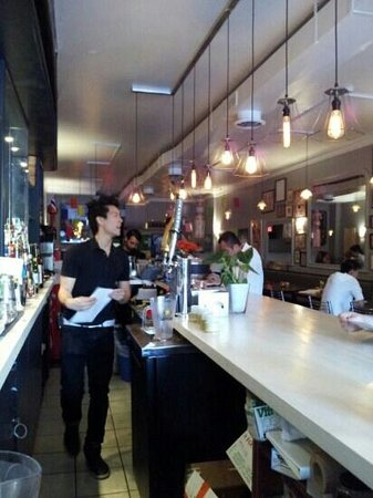 Sabai Sabai Kitchen and Bar: Actual servants.