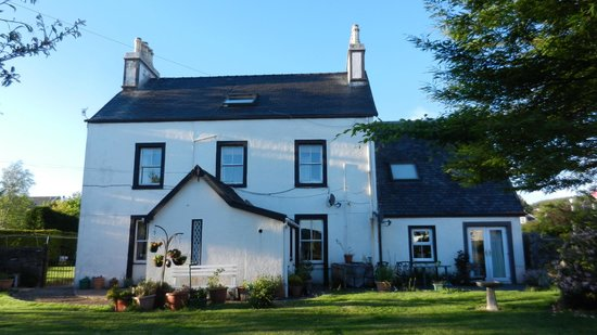 Kilmory Guest House: Rear of the house