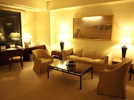 Shangri-La's Far Eastern Plaza Hotel Taipei: Corner Suite