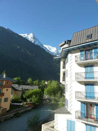 Grand Hotel des Alpes: View from our room