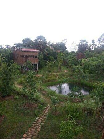 Ganesha Kampot Eco Guesthouse and More: Garden